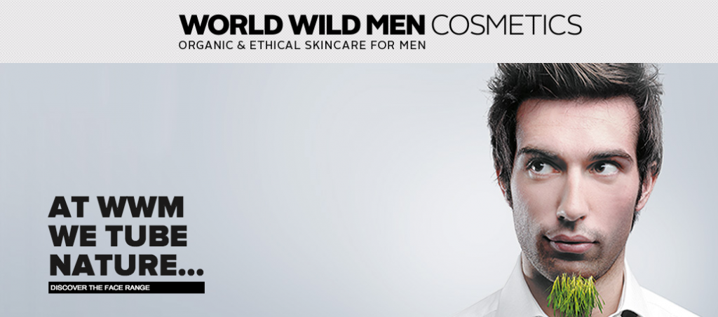 world wild men maquillage bio homme
