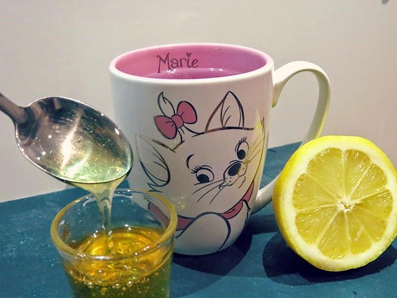 boire citron miel eau chaude matin